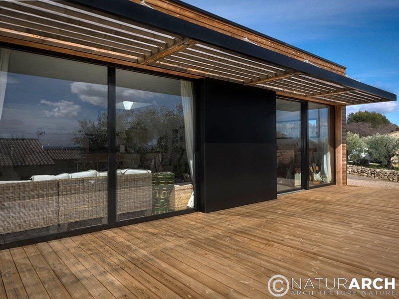 Maison plain pied rt2012 for Descriptif maison individuelle rt 2012